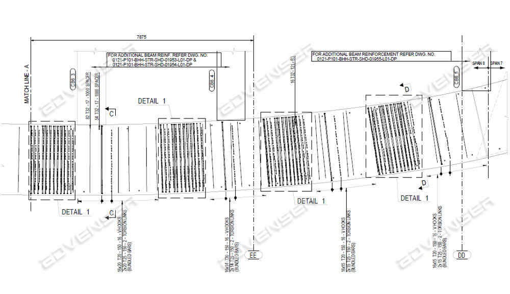 Shop drawing for MOF